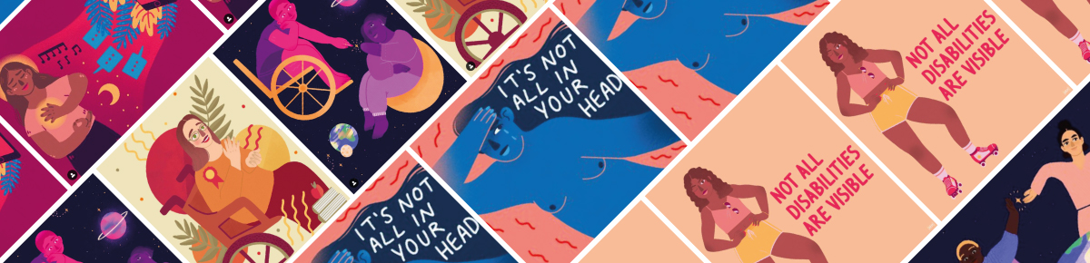 The lived experience of brain injury and chronic illness vividly depicted on Human Rights Day by celebrated UK artist, Ananya Rao Middleton