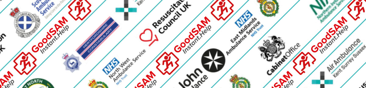 Sign up to GoodSAM - the global alert network saving lives and averting brain injury
