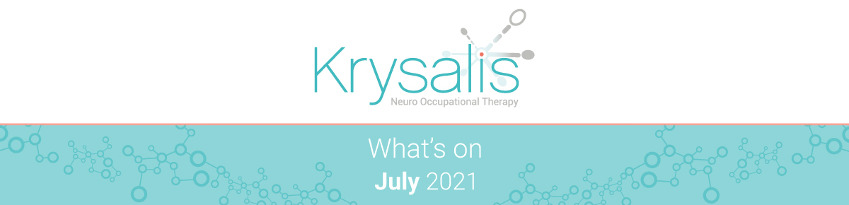 What's on in July 2021? Occupational therapy, brain injury and neurorehabilitation events