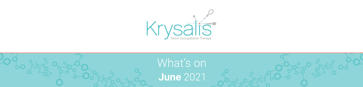What's on in June 2021? Occupational therapy, brain injury and neurorehabilitation events