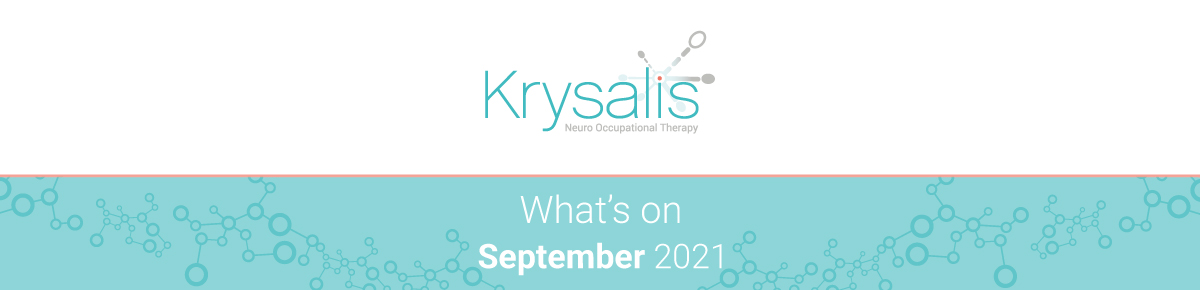 What's on in September 2021? Occupational therapy, brain injury and neurorehabilitation events