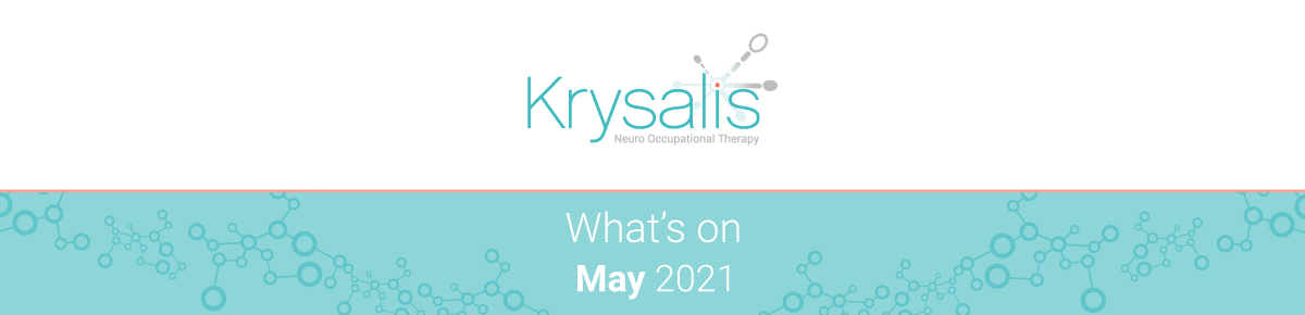 Whats on in May 2021 - Occupational therapy, brain injury and neurorehabilitation events